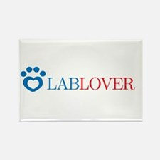 Lab Lover Rectangle Magnet