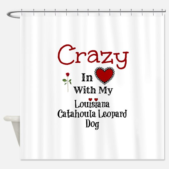 Louisiana Catahoula Leopard Dog Shower Curtain