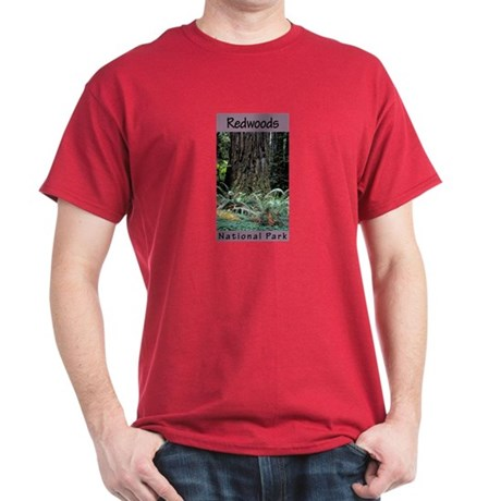 Redwoods National Park (Vertical) Dark T-Shirt