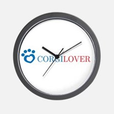 Corgi Lover Wall Clock