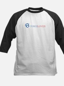 Corgi Lover Kids Baseball Jersey
