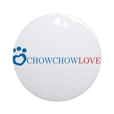 Chow Chow Lover Ornament (Round)