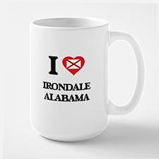 I love Irondale Alabama Mugs