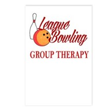 LEAGUE BOWLING - GROUP TH Postcards (Package of 8)