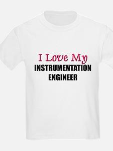 I Love My INSTRUMENTATION ENGINEER T-Shirt