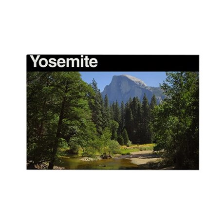 Yosemite NP Rectangle Magnet (100 pack)