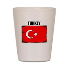 Turkey Shot Glass