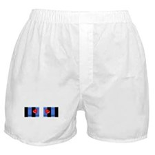 LEATHER PRIDE BAR/2 HEARTS Boxer Shorts