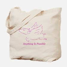 Funny Dreams flying Tote Bag