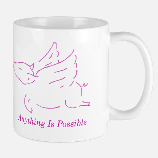 Unique Pink angel Mug