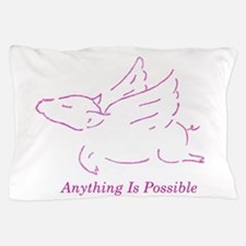 Funny Flying pig Pillow Case