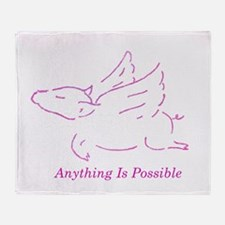 Cool Oink Throw Blanket