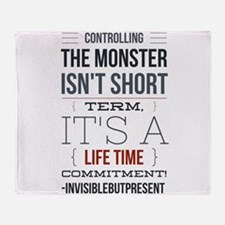 Controlling the monster © Throw Blanket