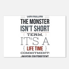 Controlling the monster © Postcards (Package of 8)
