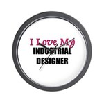 I Love My INDUSTRIAL DESIGNER Wall Clock