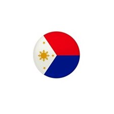 Philippines Flag Mini Button (10 pack)