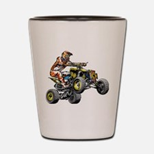 ATV Quad Racer Freestyle Shot Glass