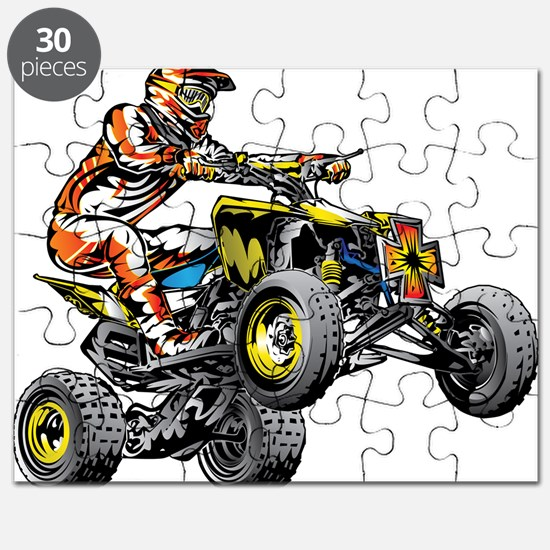 ATV Quad Racer Freestyle Puzzle