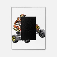 ATV Quad Racer Freestyle Picture Frame