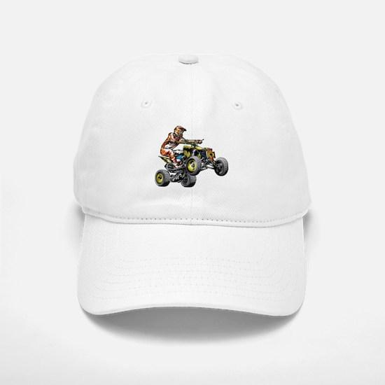 ATV Quad Racer Freestyle Baseball Baseball Cap