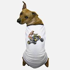 ATV Quad Racer Freestyle Dog T-Shirt