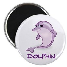 Cute Baby Dolphin Magnet