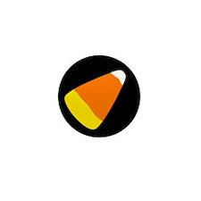 Big Candy Corn Mini Button (10 pack)