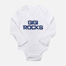 Unique I love gigi Long Sleeve Infant Bodysuit