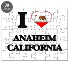 I love Anaheim California Puzzle