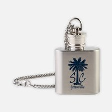 Greenville Flask Necklace