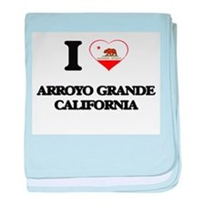 I love Arroyo Grande California baby blanket