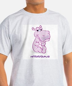 Cute Baby Hippo T-Shirt
