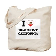 I love Beaumont California Tote Bag