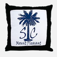 Mount Pleasant Throw Pillow