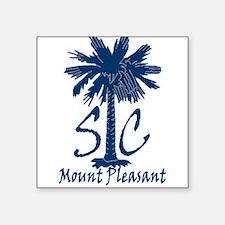 """Mount Pleasant Square Sticker 3"""" x 3"""""""