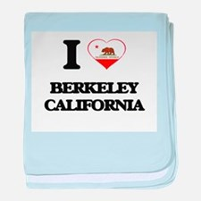 I love Berkeley California baby blanket
