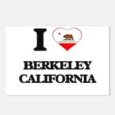 I love Berkeley Californi Postcards (Package of 8)