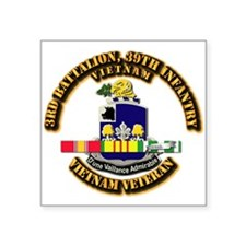 "36th Infantry - 9th Infantr Square Sticker 3"" x 3"""