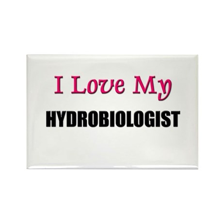 I Love My HYDROBIOLOGIST Rectangle Magnet (10 pack