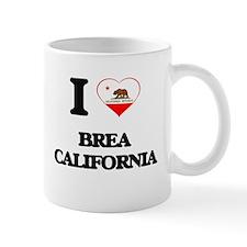 I love Brea California Mugs