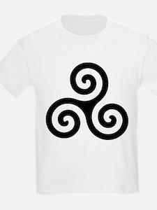 Triskele Symbol (Triple Spiral) T-Shirt