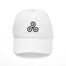Triskele Symbol (Triple Spiral) Baseball Cap