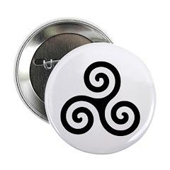 Triskele Symbol (Triple Spiral) 2.25