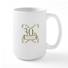 30th Wedding Anniversary Mug