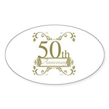 50th Wedding Anniversary Decal