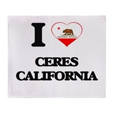 I love Ceres California Throw Blanket