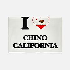 I love Chino California Magnets