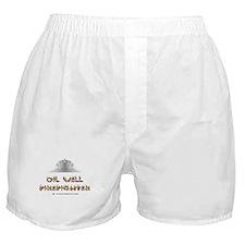 Oil Well Firefighter Boxer Shorts