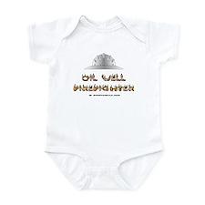 Oil Well Firefighter Infant Bodysuit