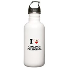 I love Coalinga Califo Water Bottle